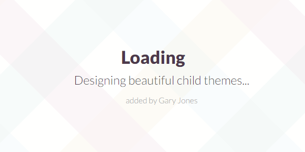 Designing child themes - genesiswp slack quote