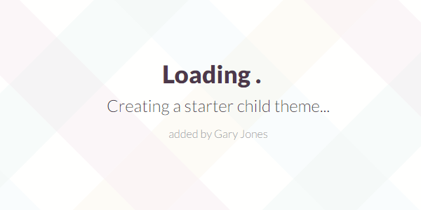 creating a starter theme - genesiswp slack quote