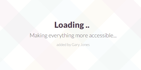 Making accessible - genesiswp slack quote