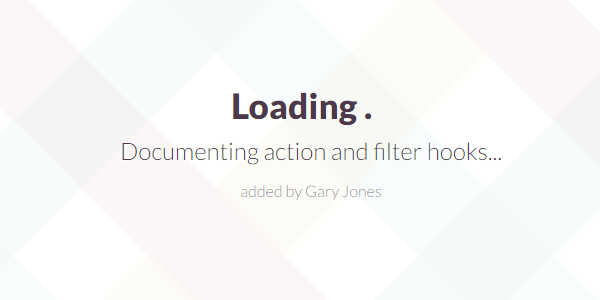 Documenting action filter hooks - genesiswp slack quote