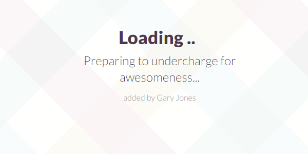 Preparing for awesomeness - genesiswp slack quote