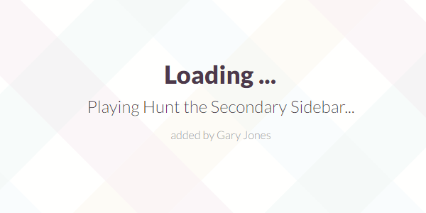 Putting Hunt the Secondary Sidebar - genesiswp slack quote